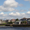 View Looking Northeast Along The River Shannon