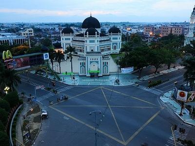 View Medan Skyline - Sumatra ID