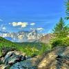 View Mont Blanc Landscape