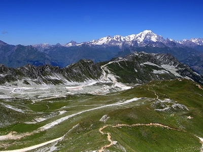 View Mont Blanc - Tallest Mountain In Europe