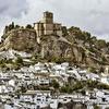 View Montefrio Castillo Above Town - Andalusia Granada