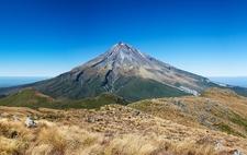 View Mount Egmont - North Island NZ