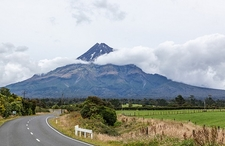 View Mount Taranaki - North Island NZ