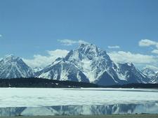 View Near Signal Mountain Lodge - Grand Tetons - Wyoming - USA