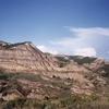 View North Dakota Badlands
