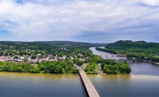 View Northumberland & Susquehanna River From Shikellamy State Park