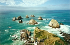 View Nugget Point @ Otago Coast NZ