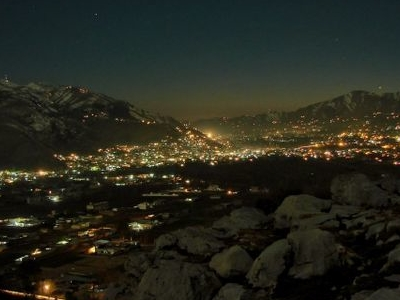 View Of Abbottabad From Sarban Hills