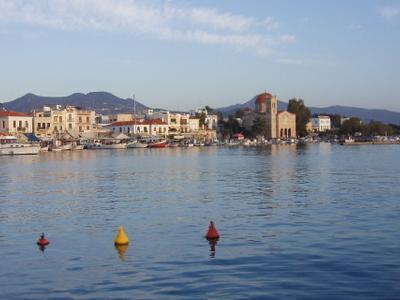 View Of Aeginas Seafront