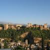 View Of Alhambra From Mirador De San Nicolás