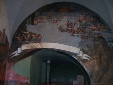 View Of Ancient Frescos Inside