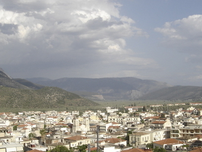 View Of Amfissa