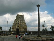 View Of Belur Temple