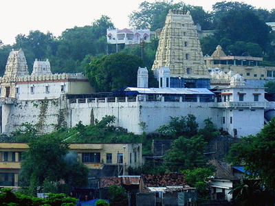 View Of Bhadrachalam Temple
