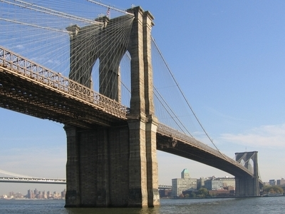 Brooklyn Bridge And Downtown Brooklyn