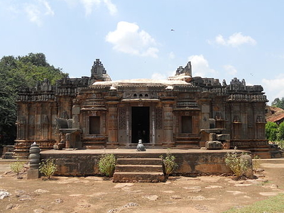 View Of Chandramoulesvara Temple