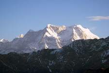 Chaukhamba From Tungnath Shortly After Sunrise