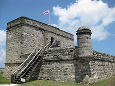 View Of Fort's Western And Southern Facades