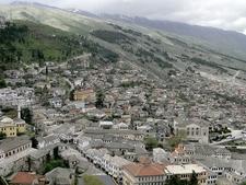 View Of Gjirokaster