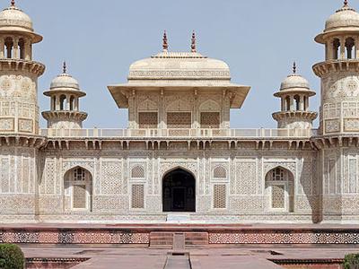 View Of  Itmad-ud-Daula's Tomb