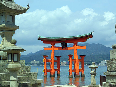 View Of Itsukushima Shrine