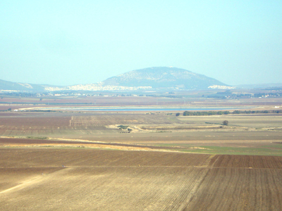 View Of Jezreel Valley And Mount Tabor