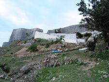 View Of Katsuren Castle Remains
