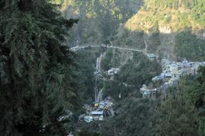 View Of Kempty Falls