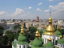 View Of Kiev Seen From The Belltower