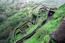 View Of Lohagad Fort