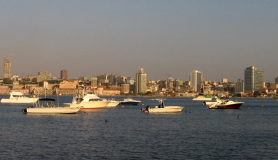 View Of Luanda Bay From Ilha De Luanda June 2008