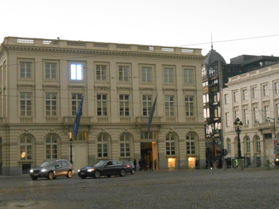 View Of Magritte Museum