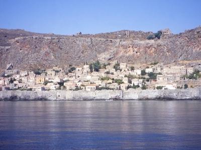 View Of Monemvasia.