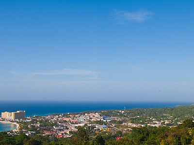View Of Ocho Rios