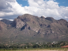 View Of Pusch Ridge From Oro Valley