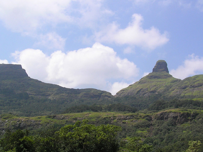View Of Ratangad Fort