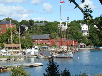 View Of Rockport Harbor