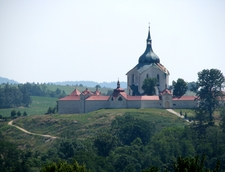 View Of Saint John Of Nepomuk Church