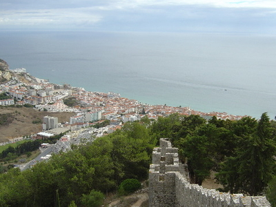 View Of Sesimbra
