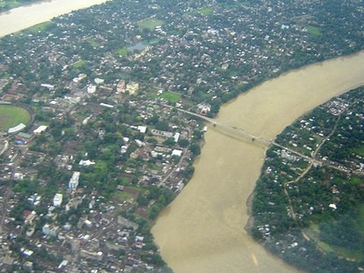 View Of Silchar City