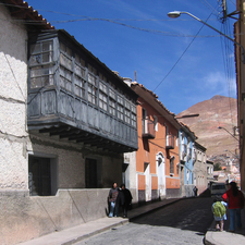 View Of Street From Potosi