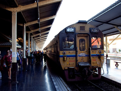View Of The Chiang Mai Railway Station