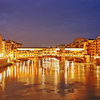 View Of The Ponte Vecchio At Night