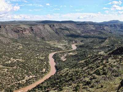View Of The Rio Grande From Overlook Park