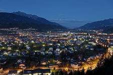 View Of The Town Wattens, Tyrol, Austria