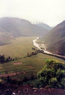 View Of Urubamba River
