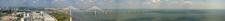 View Of Vasco Da Gama Bridge From Atop Vasco Da Gama Tower.