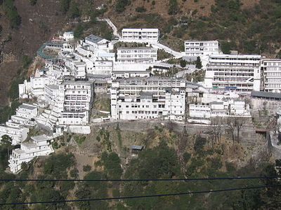 View Of Vaishno Devi Bhawan
