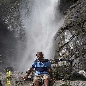 View Of Vasudhara Falls