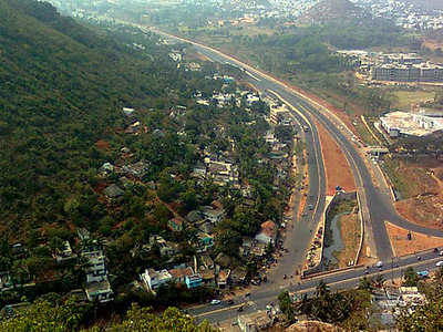 View Of Visakhapatnam City